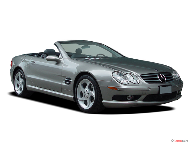 2005 Mercedes-Benz SL Class 2-door Roadster 5.0L Angular Front Exterior View