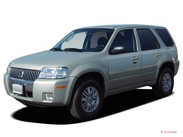2005 Mercury Mariner 4 Door 103 Wb Luxury 4wd Angular Front Exterior View