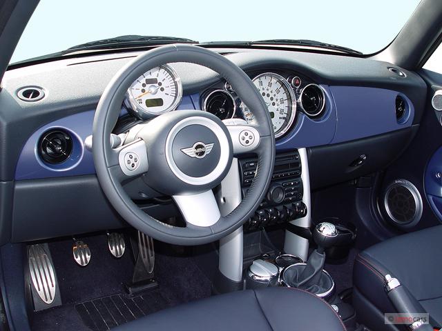 2005 Mini Cooper Convertible 2 Door S Dashboard