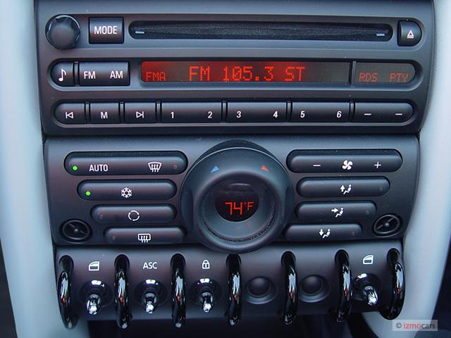 2005 Mini Cooper Convertible 2 Door S Instrument Panel