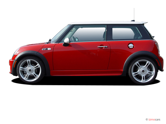 2005 MINI Cooper Hardtop 2-door Coupe S Side Exterior View