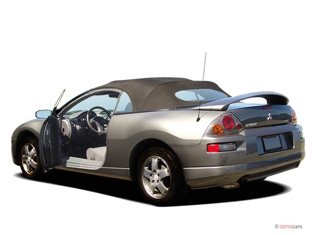 Image: 2005 Mitsubishi Eclipse 2-door Spyder GS 2.4L Sportronic Auto