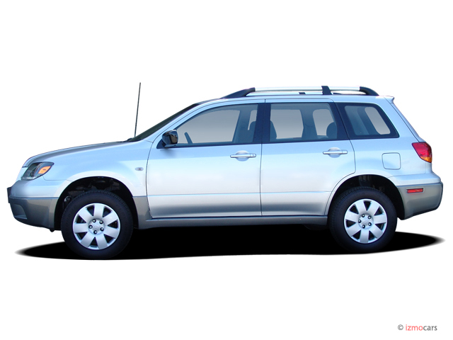 Image 2005 Mitsubishi Outlander 4 Door Ls Sportronic Auto Side Exterior View Size 640 X 480