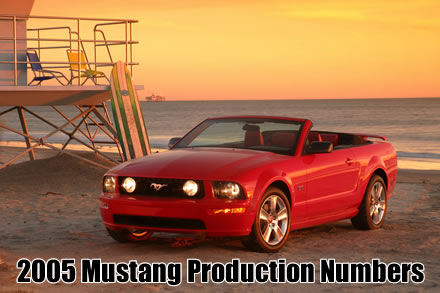 2005 ford mustang production numbers rh motorauthority com 2010 Ford Mustang Convertible 2005 mustang gt convertible owners manual
