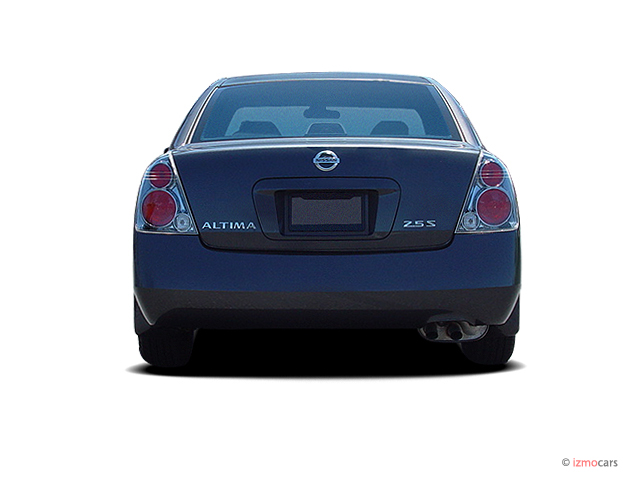 image 2005 nissan altima 4 door sedan 2 5 s auto rear exterior view size 640 x 480 type gif. Black Bedroom Furniture Sets. Home Design Ideas