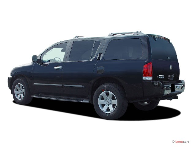 image 2005 nissan armada le 2wd angular rear exterior view size 640 x 480 type gif posted. Black Bedroom Furniture Sets. Home Design Ideas