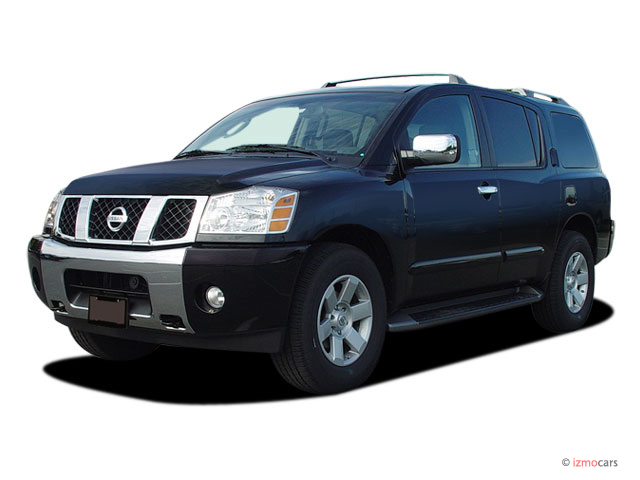 2005 Nissan Armada LE 2WD Angular Front Exterior View