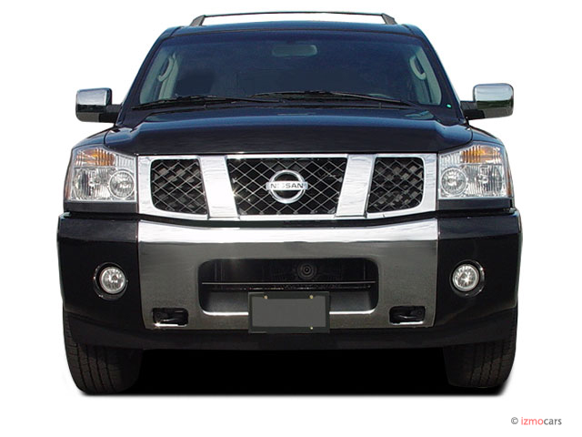 image 2005 nissan armada le 2wd front exterior view size. Black Bedroom Furniture Sets. Home Design Ideas