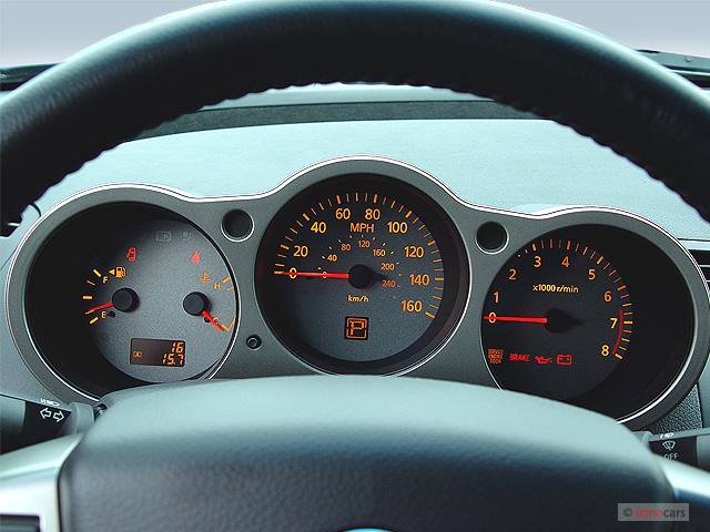 Image: 2005 Nissan Maxima 4-door Sedan SL Auto Instrument ...