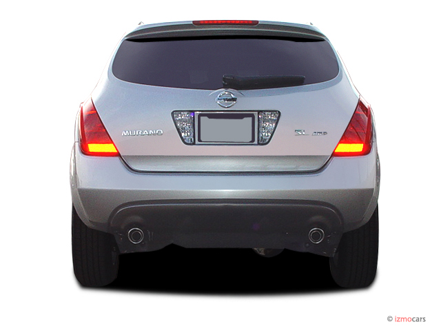 image 2005 nissan murano 4 door sl awd v6 rear exterior view size 640 x 480 type gif. Black Bedroom Furniture Sets. Home Design Ideas