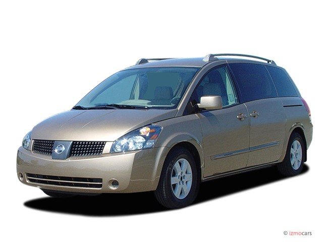 2005 Nissan Quest 4-door Van SL Angular Front Exterior View