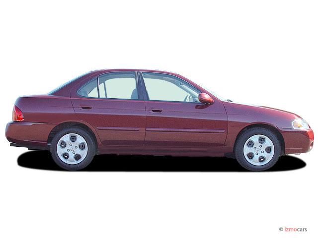 image 2005 nissan sentra 4 door sedan 1 8 s auto ulev side exterior view size 640 x 480 type. Black Bedroom Furniture Sets. Home Design Ideas