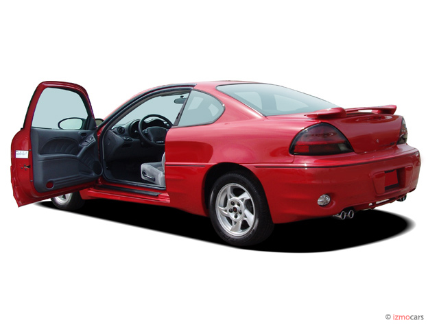 2005 Pontiac Grand Am 2-door Coupe GT1 Open Doors