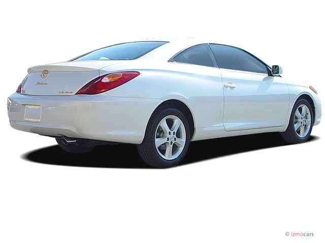 Beautiful 2005 Toyota Camry Solara 2 Door Coupe SLE Auto (Natl) Angular Rear Exterior  View