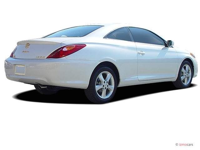 Exceptional 2005 Toyota Camry Solara 2 Door Coupe SLE Auto (Natl) Angular Rear Exterior  View
