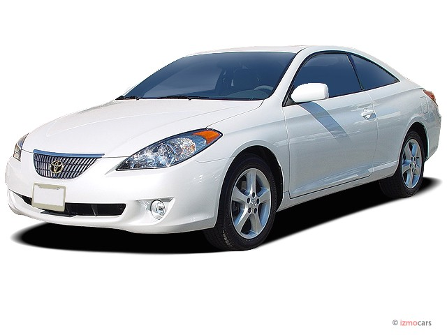 2005 Toyota Camry Solara 2-door Coupe SLE Auto (Natl) Angular Front Exterior View