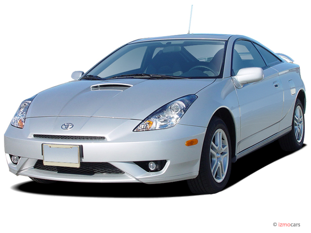 2005 Toyota Celica 3dr LB GT Manual (Natl) Angular Front Exterior View