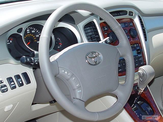 image 2005 toyota highlander 4 door v6 4wd limited w 3rd row natl steering wheel size 640 x. Black Bedroom Furniture Sets. Home Design Ideas