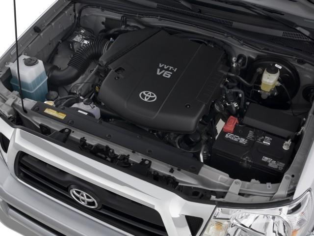 Image: 2008 Toyota Tacoma 2WD Access I4 MT (Natl) Engine ...