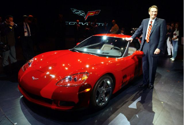 2005 Chevrolet Corvette with Rick Wagoner