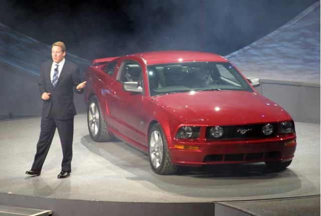 2005 Ford Mustang with Bill Ford