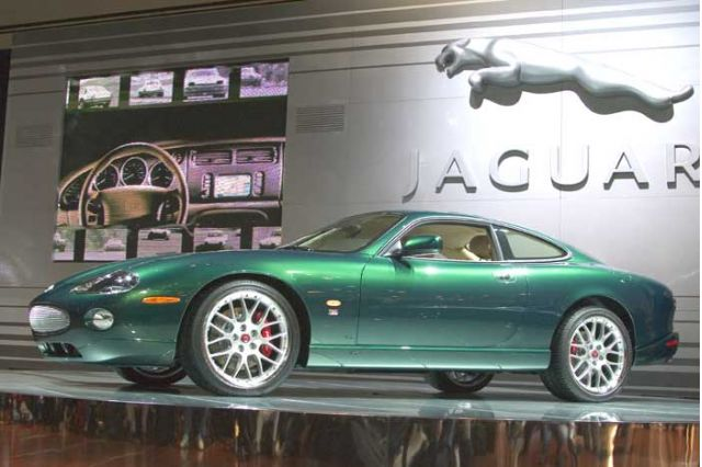 2005 Jaguar XK Victory Edition, Los Angeles Auto Show
