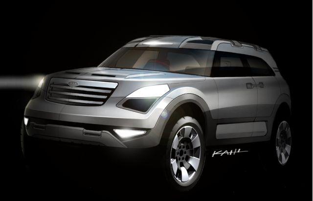 2005 Kia KCD-II concept