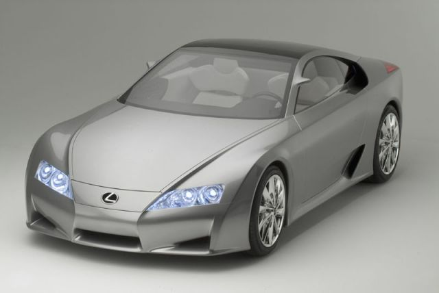 Lexus' concept LF-A sportscar can in theory hit 200 mph.