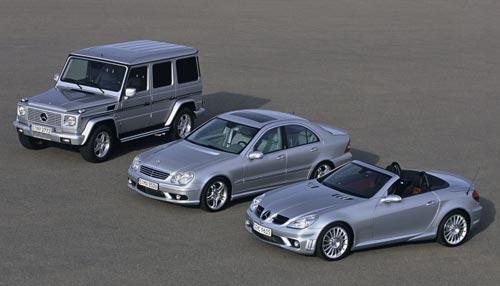 2005 Mercedes-Benz G55 AMG