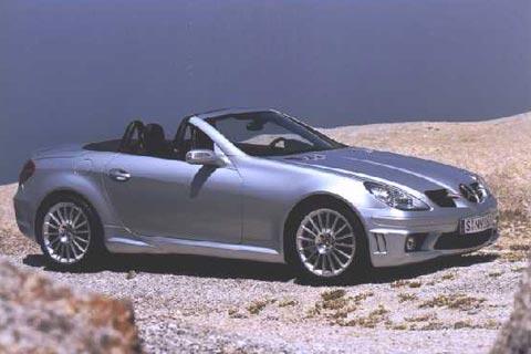 2005 Mercedes-Benz SLK 55 AMG