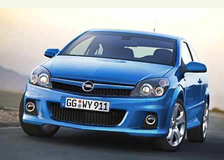 2005 Opel Astra OPC