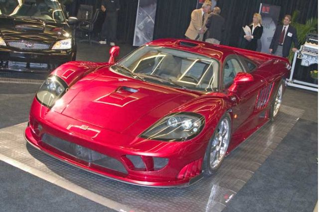 2005 Saleen S7 Twin Turbo, Los Angeles Auto Show