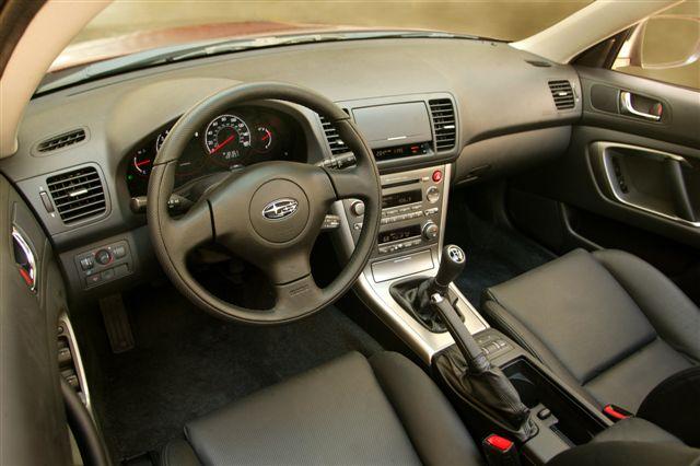 Subaru outback 2005 interior