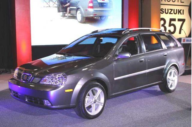 2005 Suzuki Forenza Wagon