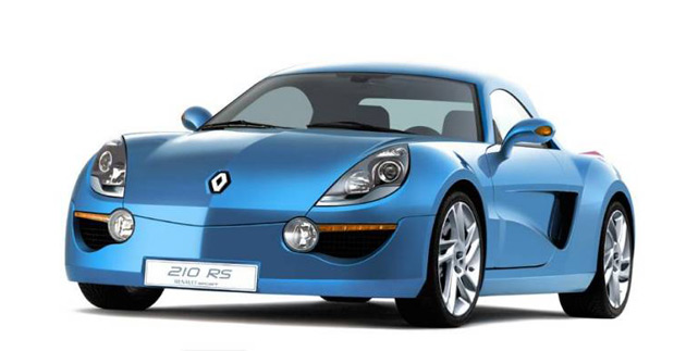 The 2006 Alpine 210 RS concept car shows a possible direction Renault could have taken for its new sports car