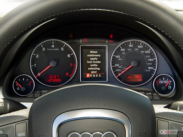 Image 2006 Audi A4 4 Door Sedan 2 0t Cvt Instrument