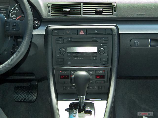 image 2006 audi a4 4 door sedan 2 0t cvt instrument panel. Black Bedroom Furniture Sets. Home Design Ideas