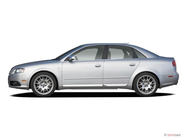 image 2006 audi s4 4 door sedan quattro auto side. Black Bedroom Furniture Sets. Home Design Ideas