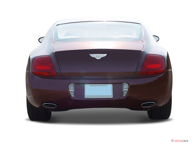2006 Bentley Continental GT 2-door Coupe Rear Exterior View