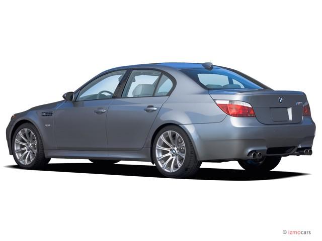 Image 2006 Bmw 5 Series M5 4 Door Sedan Angular Rear Exterior View Size 640 X 480 Type Gif