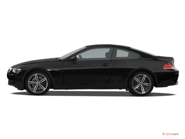 2006 BMW 6 Series 2 Door M6 Coupe Side Exterior View