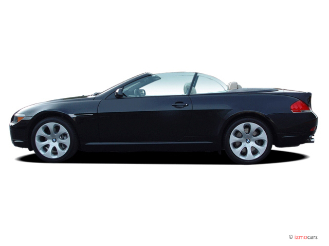 Image: 2006 BMW 6-Series 650Ci 2-door Convertible Side Exterior View, size: 640 x 480, type: gif ...