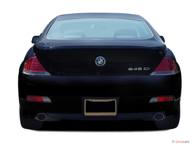 Image 2006 Bmw 6 Series 650ci 2 Door Coupe Rear Exterior View Size 640 X 480 Type Gif