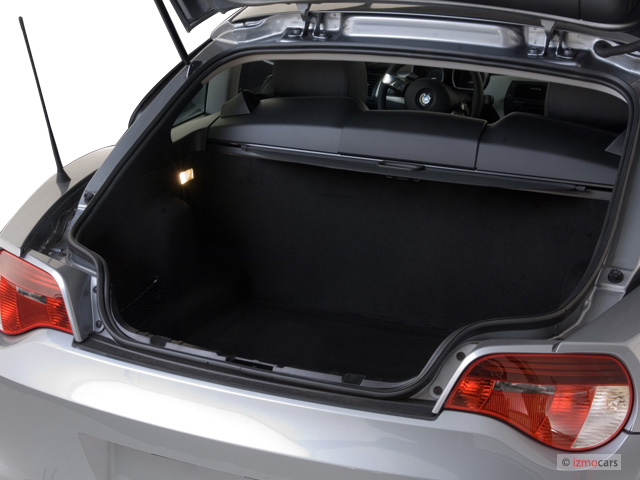 Image 2006 Bmw Z4 Series Z4 2 Door Coupe 3 0si Trunk
