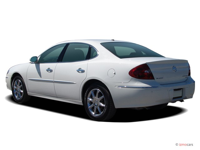 Image: 2006 Buick LaCrosse 4-door Sedan CXS Angular Rear Exterior View, size: 640 x 480, type ...