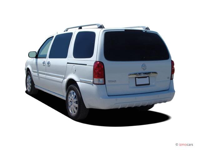 Image: 2006 Buick Terraza 4-door CXL FWD Angular Rear Exterior View, size: 640 x 480, type: gif ...