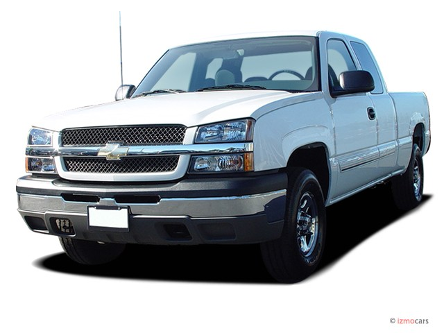 """2006 Chevrolet Silverado 1500 Ext Cab 143.5"""" WB 2WD Work Truck Angular Front Exterior View"""