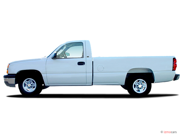 image 2006 chevrolet silverado 1500 reg cab 119 0 wb 2wd work truck side exterior view size. Black Bedroom Furniture Sets. Home Design Ideas