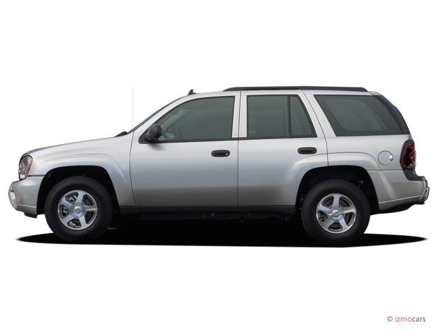 Image: 2006 Chevrolet TrailBlazer 4-door 2WD LS Side Exterior View, size: 640 x 480, type: gif ...
