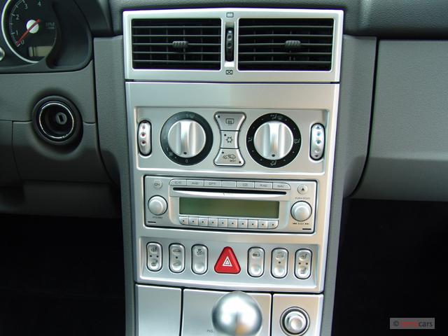 Chrysler Crossfire Door Roadster Limited Instrument Panel M